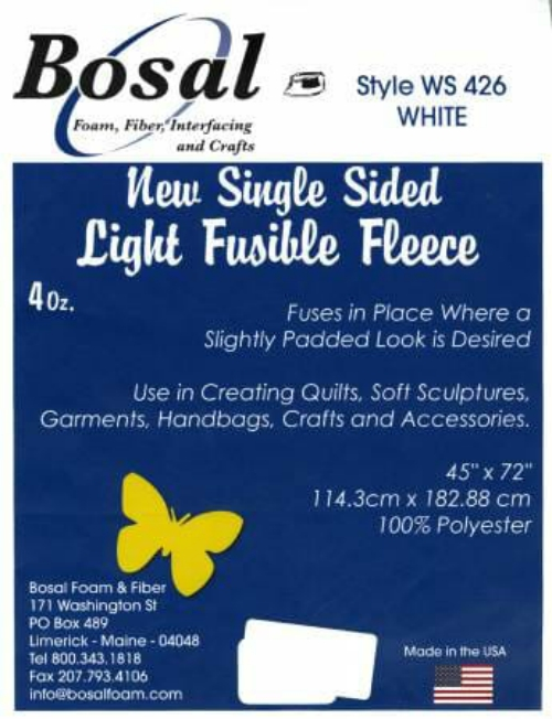 Single-sided light fusible WS426
