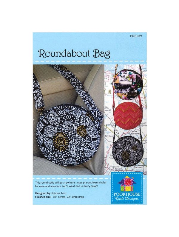 Roundabout Bag Pattern PQD-221