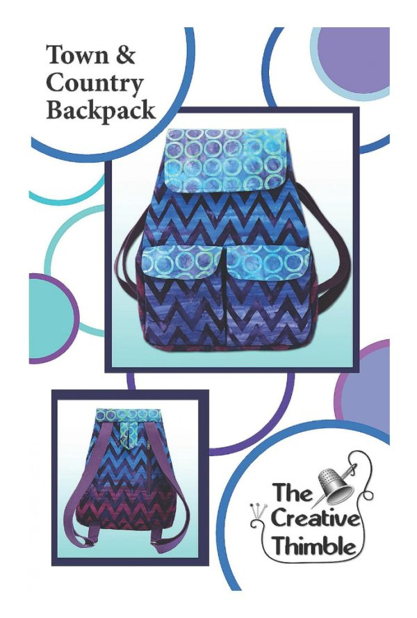 Town & country Backpack Pattern-TCT112