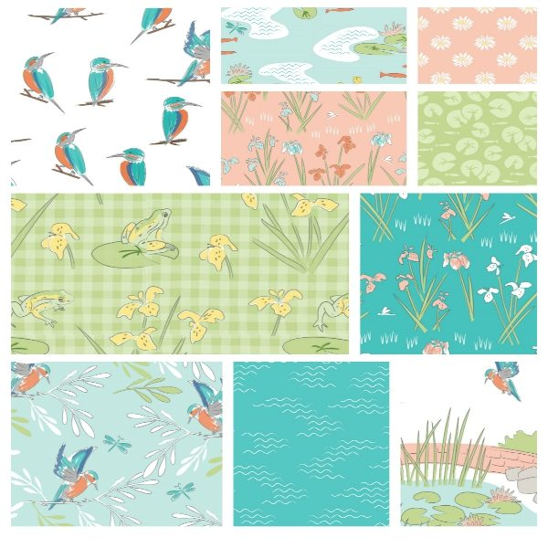 Lily Pad Fat Quarter Pack
