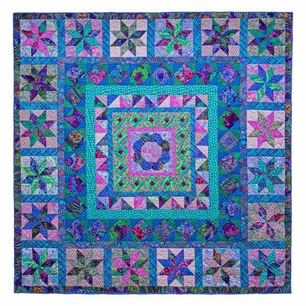 Cool Imari Plate Fabric