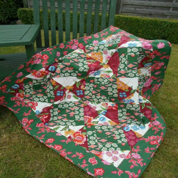 Courtyard Garden Quilt Kit