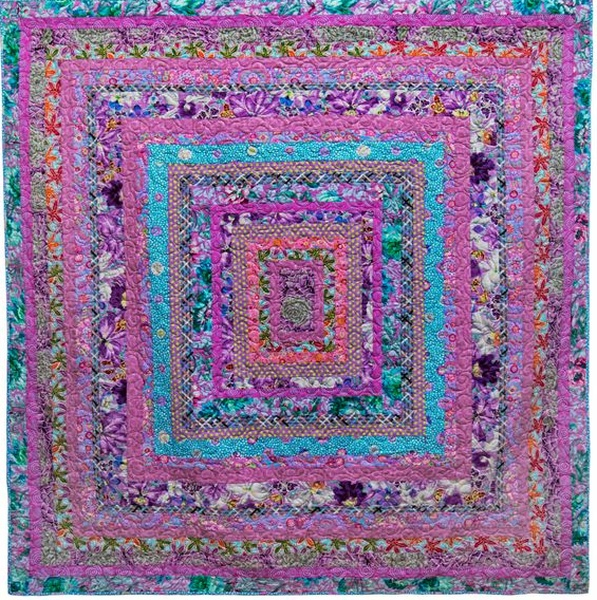 Lavender Ice-Cream, Quilts in the Cotswolds