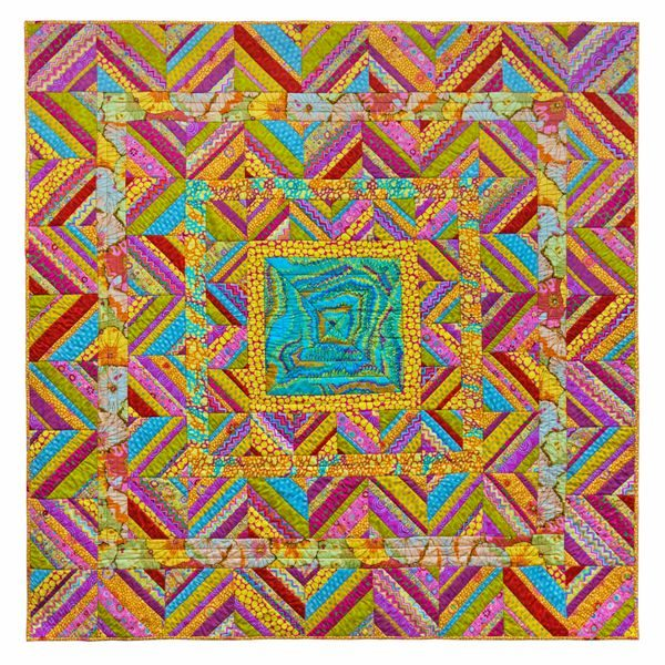 Sunny Zig Zag, Quilts in the Cotswolds