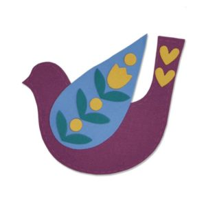 Sizzix 663404 Folk Bird