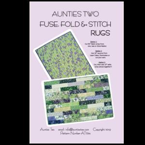 Fuse Fold Stitch Rug Pattern