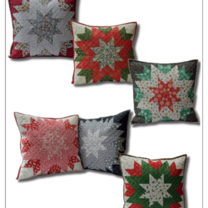 Christmas Star Cushion PDF