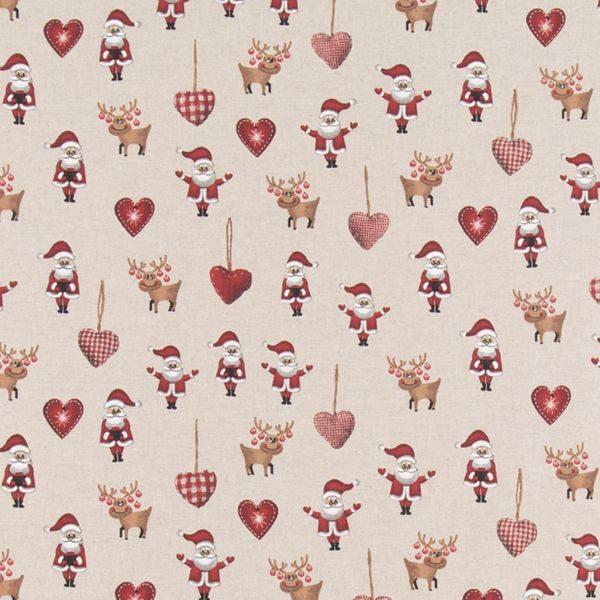 07299-060 Popart Linen Christmas