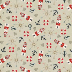 Harbor Days 4802-167-Mini-Tossed Motifs