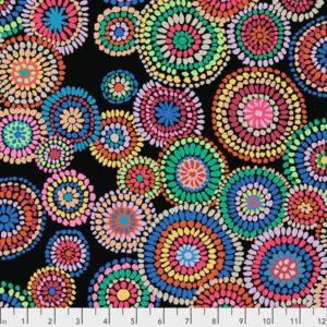 Mosaic Circles PWGP176.Black 2020