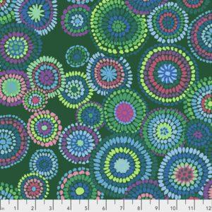 Mosaic Circles PWGP176.Green 2020