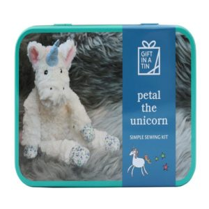 Petal the Unicorn - Toy Kit - Gift in a Tin