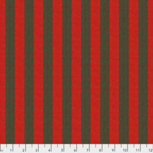Shot Cotton Wide Stripe-SSGP001.Chestnut