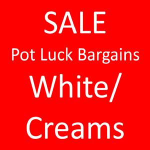 Sale: Whites/ Creams Tone on Tone