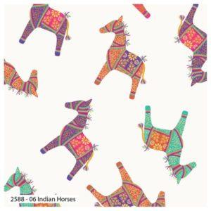 New Delhi 2588-06 Horses