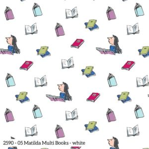 Matilda 2590-05 Books White