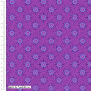 Makoti Purple Circles 2620-02