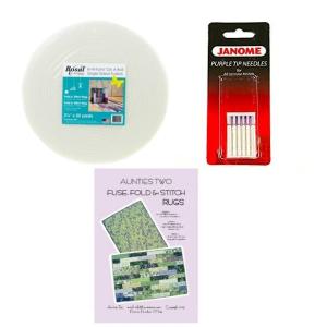 Fuse fold and Stitch Rug Kit