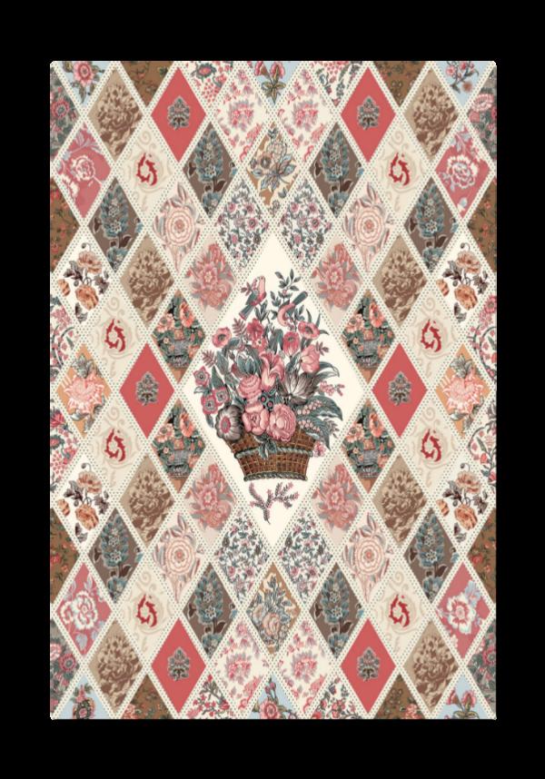 Jane Austen Diamond Panel-P10021R