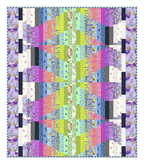 Wiggle Room Quilt PDF