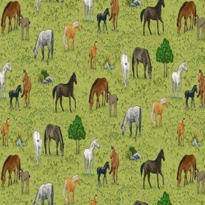 Village Life 2295.1 Horses