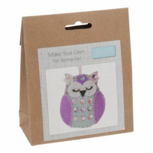 Felt kit Spring Owl-GCK037