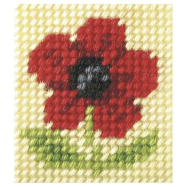 Embroidery Kit Poppy-OCR.9712