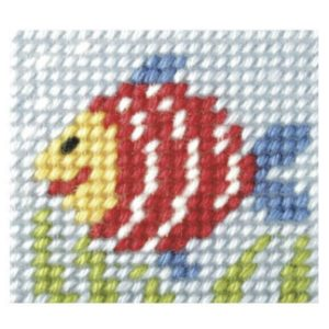 Embroidery Kit Rainbow Fish OCR.9714