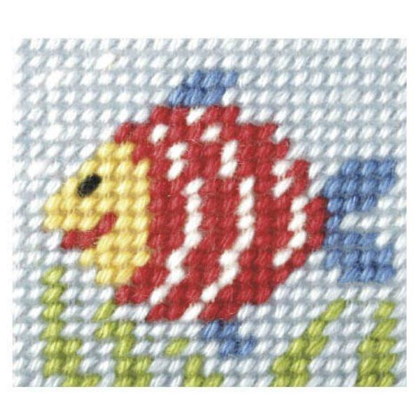 Embroidery Kit Rainbow Fish OCR.9714