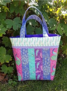 Elegant Peacock Quilted Bag Project