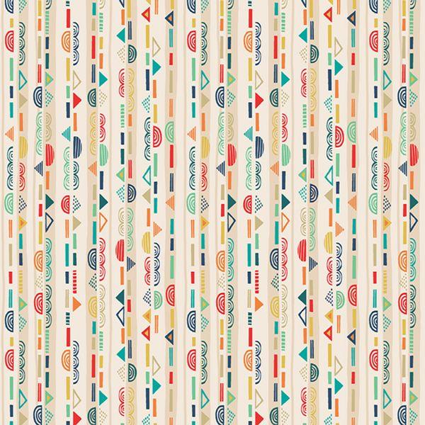 Folk Friends Scallop-stripe 2306Q