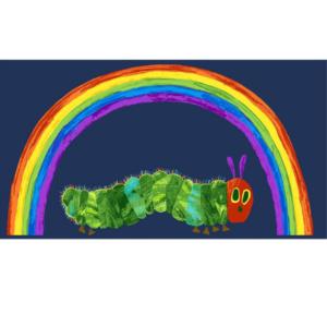 Very Hungry Caterpillar 29597B.Rainbow Panel