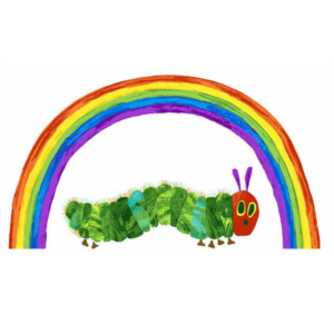 Very Hungry Caterpillar 29597L.Rainbow Panel