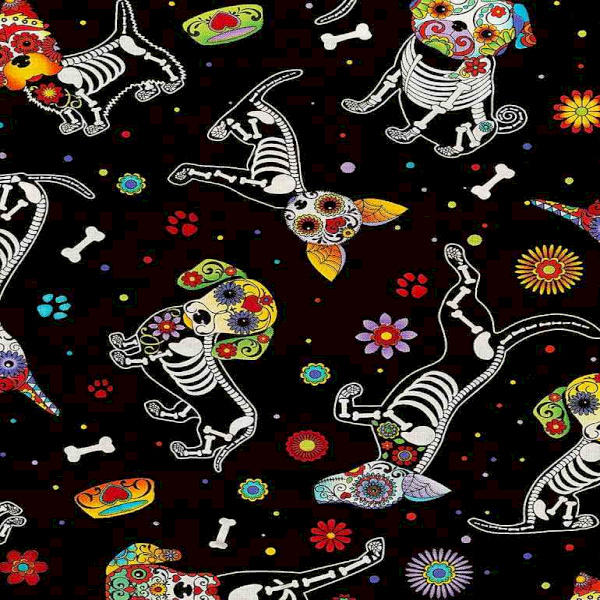 C4640 Day of the Dead Dogs