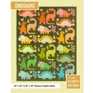 Dinosaurs Quilt Pattern EH058