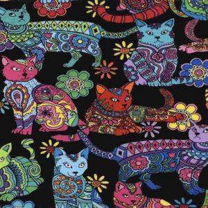 Cat Colouring Gail-C4815-Multi