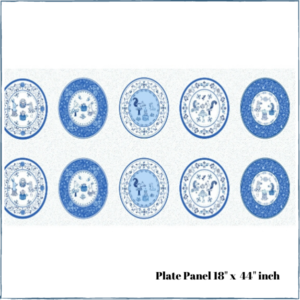 Teatime Plate Panel