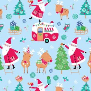 Santa & Reindeer 2608-01