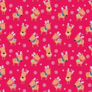 Santa & Reindeer 2608-04
