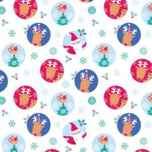 Santa & Reindeer 2608-05