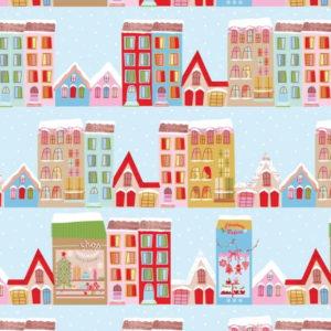 Christmas Town House 2610-02