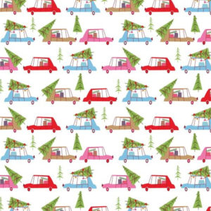 Christmas Town Cars 2610-02