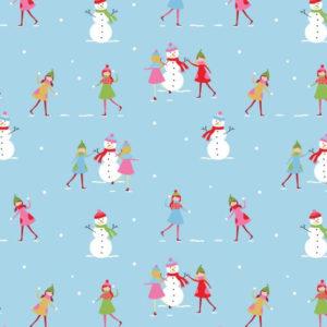 Christmas Town Snowman 2610-04
