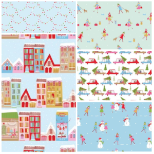 Christmas Town Fat Quarter-2610-00