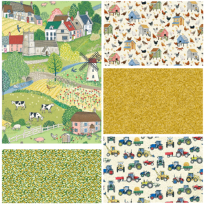 Village Life Fat Quarter Bundle One