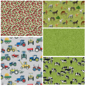 Village Life Fat Quarter Bundle Three