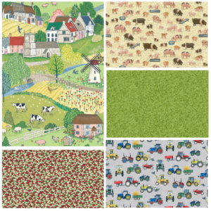 Village Life Fat Quarter Bundle Two