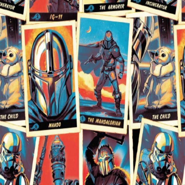 Star Wars Mandalorian Trading Card