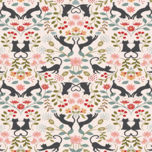 Purrfect Petals A468.1-Love Cats