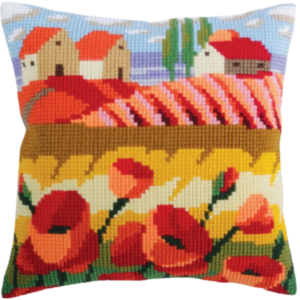Poppy Field CD5320 Cross-stitch